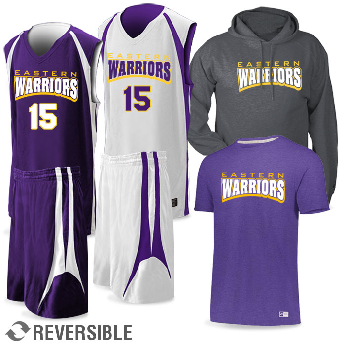 Basketball Team Pack Premier Discounted Package in Purple