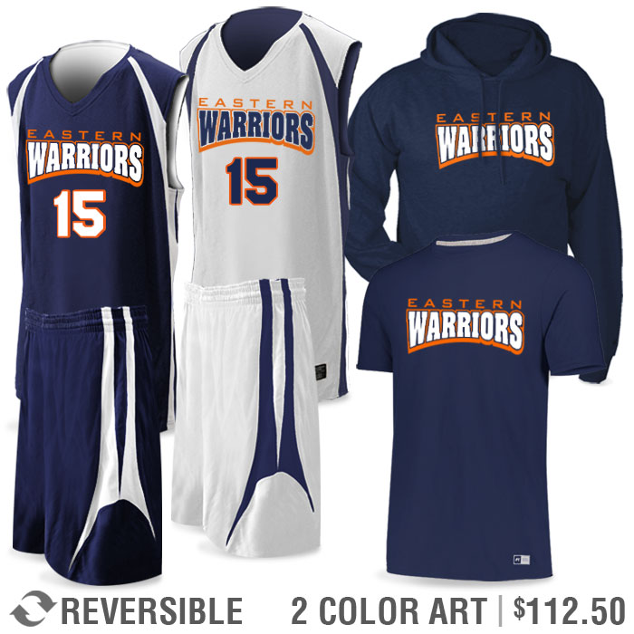 Basketball Team Pack Premier Discounted Package in Navy