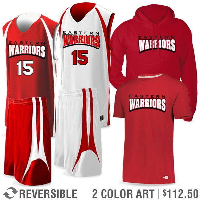 Basketball Team Pack Premier Discounted Package in Red