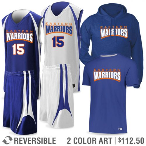 Basketball Team Pack Premier Discounted Package in Royal