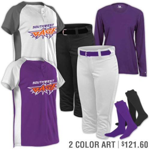 Team Pack Rock It Double in Purple 2 color