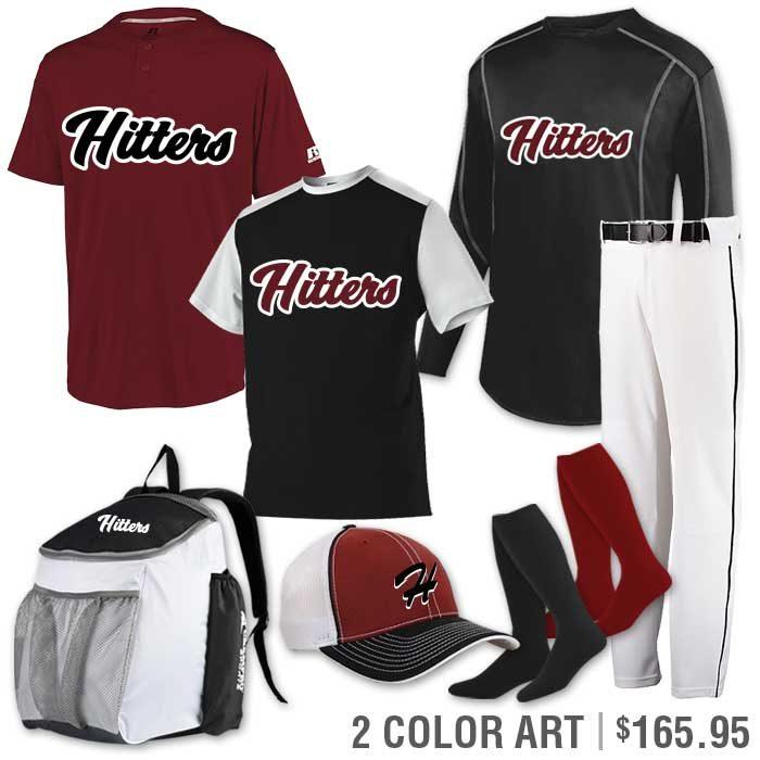 Team Pack Russell Torrent Baseball Uniform Team Pack