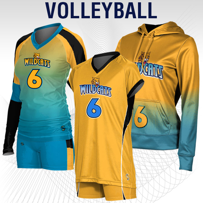 Volleyball Uniforms Team Packs