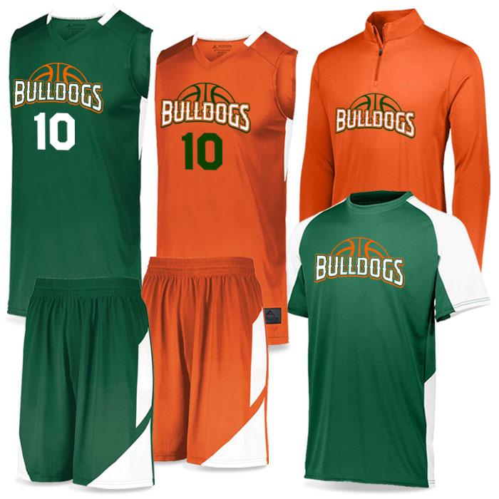 Step-Back Basketball Uniform Team Pack Package Deal