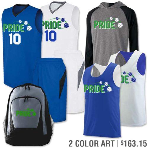 Basketball Uniform Team Pack Transition in Royal Blue