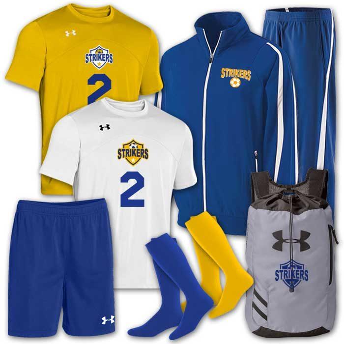 soccer uniform team pack under armour golazo