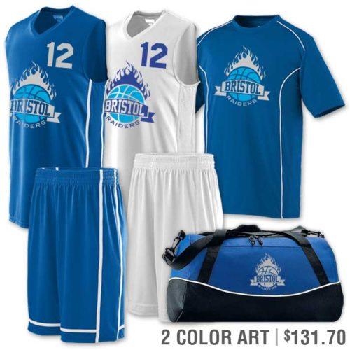 winning streak basketball uniform package