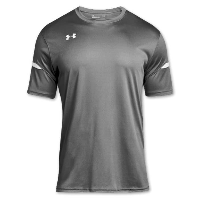 Under Armour brand stock lightweight Soccer Jersey in Graphite