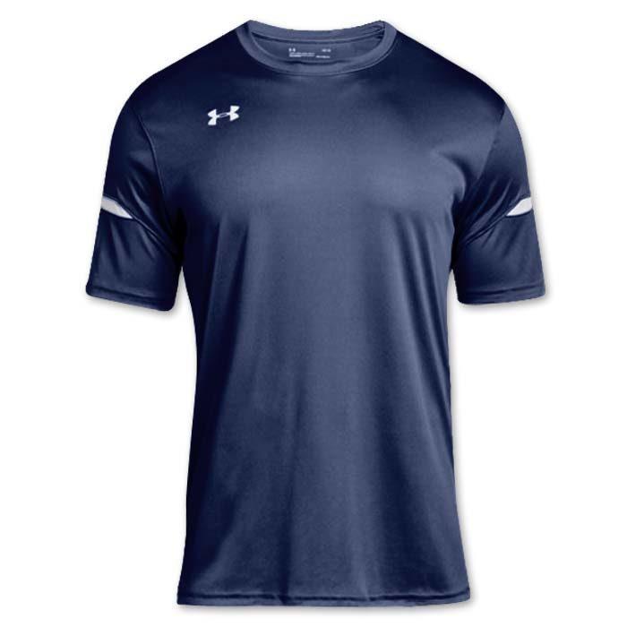 Under Armour brand stock lightweight Soccer Jersey in Navy