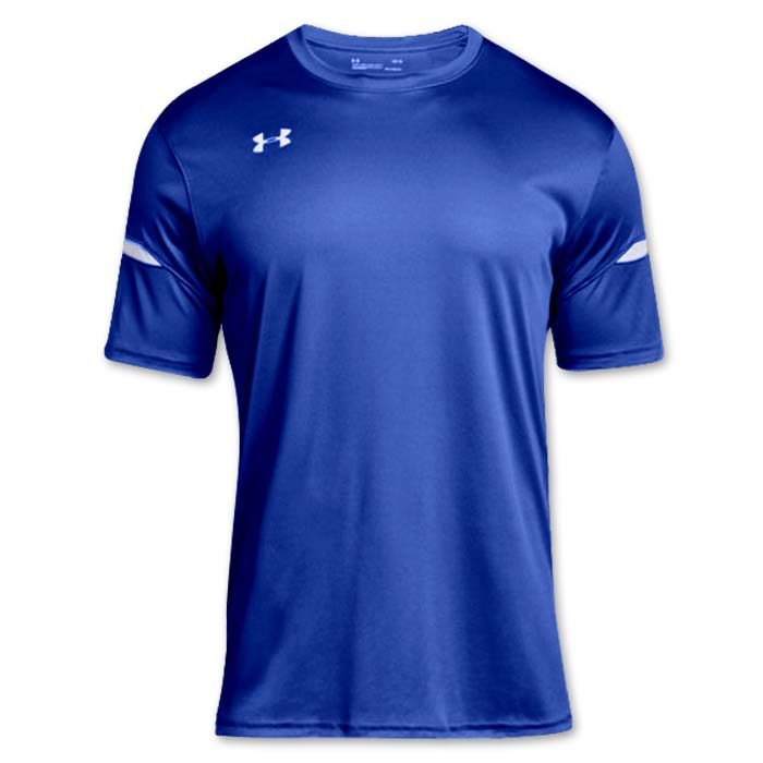 Under Armour brand stock lightweight Soccer Jersey in Royal