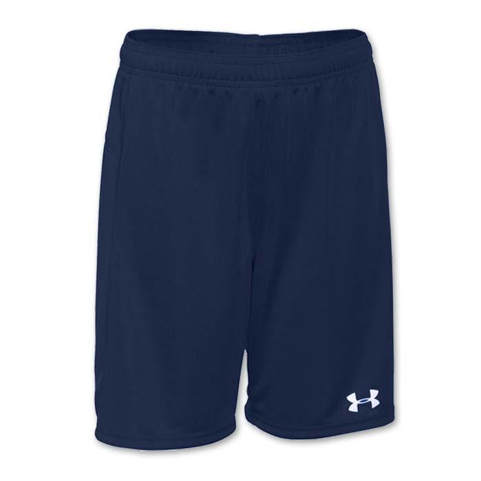 Under Armour brand stock lightweight Soccer Shorts in Navy