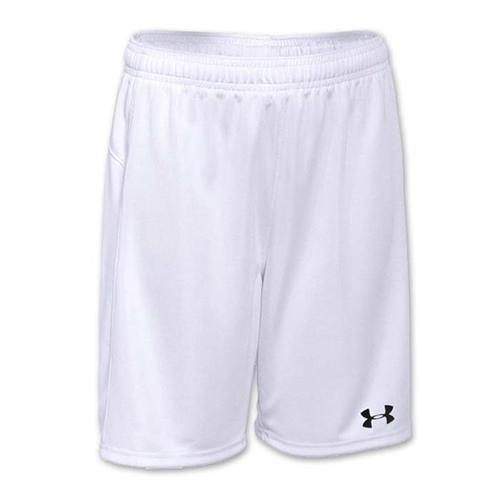 Under Armour brand stock lightweight Soccer Shorts in White