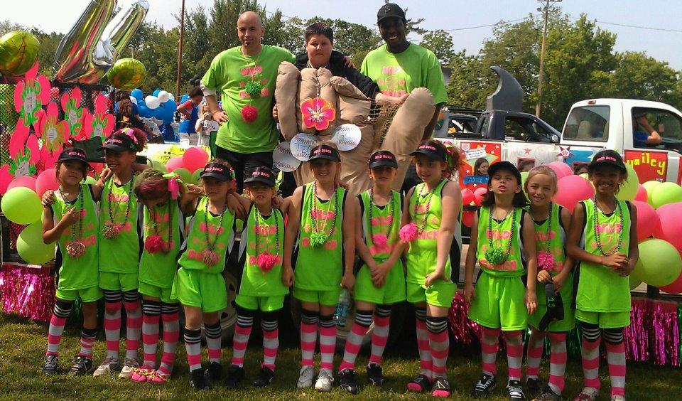 Team Jerseys in Community Parade