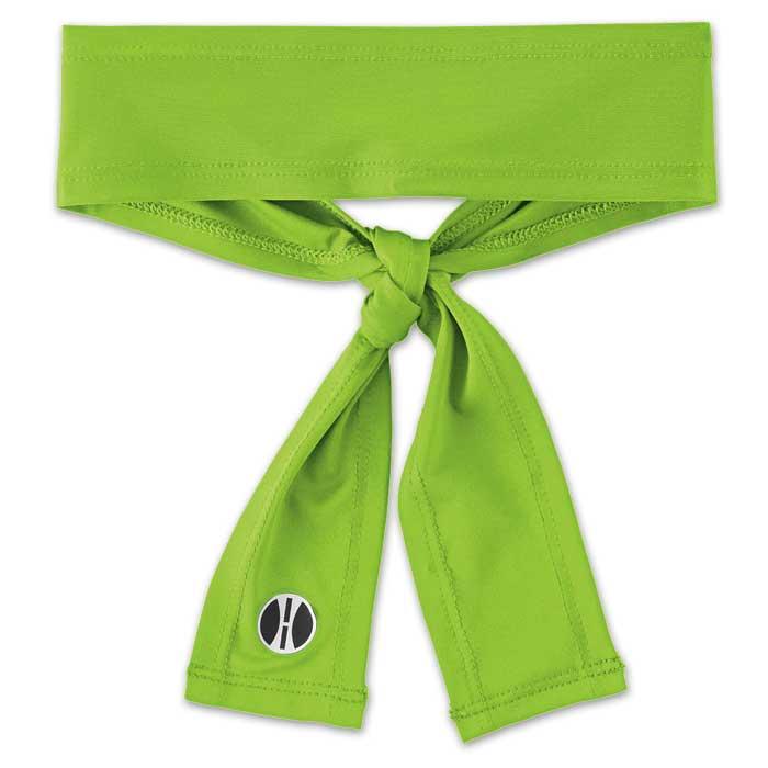 Lime Zoom Tie Headband