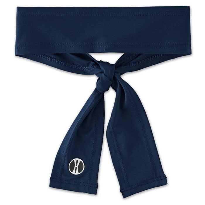 Navy Blue Zoom Tie Headband