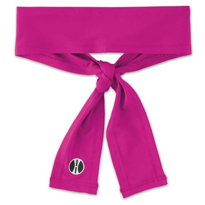 Power Pink Zoom Tie Headband