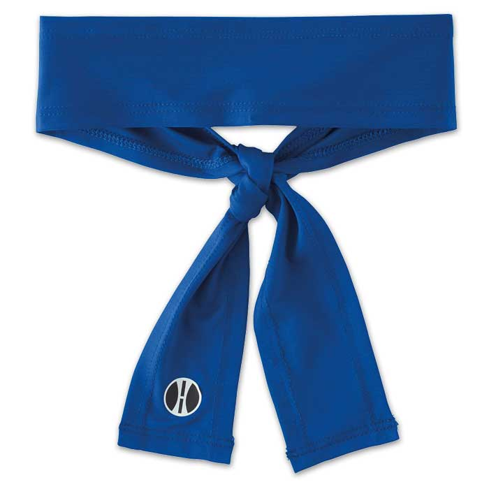 Royal Blue Zoom Tie Headband